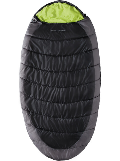High Peak OVO 200 Schlafsack rechts dunkelgrau/grün